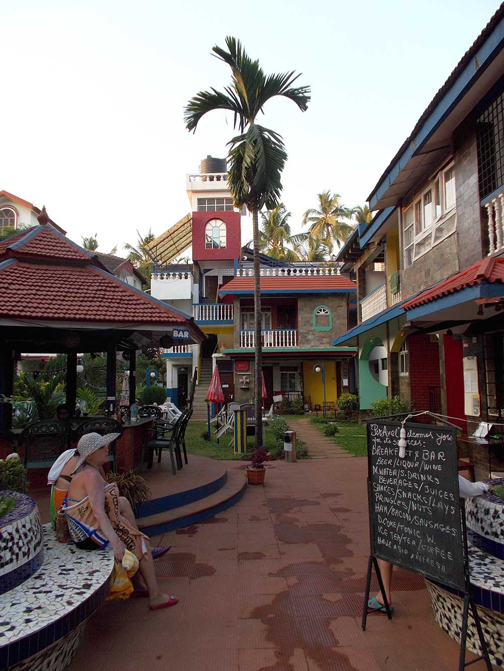 North Goa, hotel Peravel